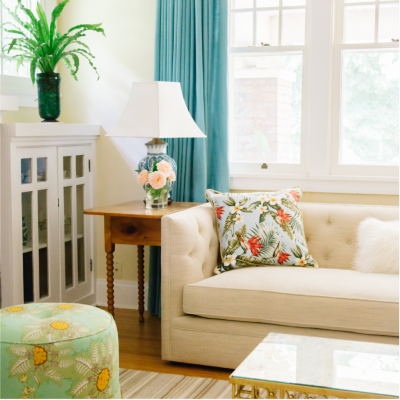 Boulder Home Interior Design Sitting Room