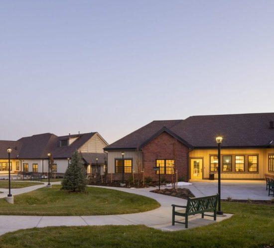 hover senior living housing exterior
