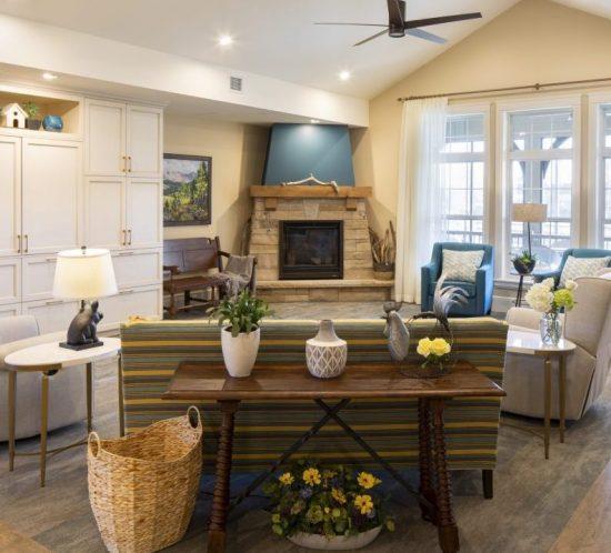 hover senior living housing yellow rose living room