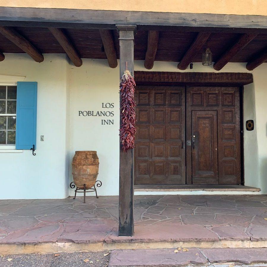 los poblanos inn front door