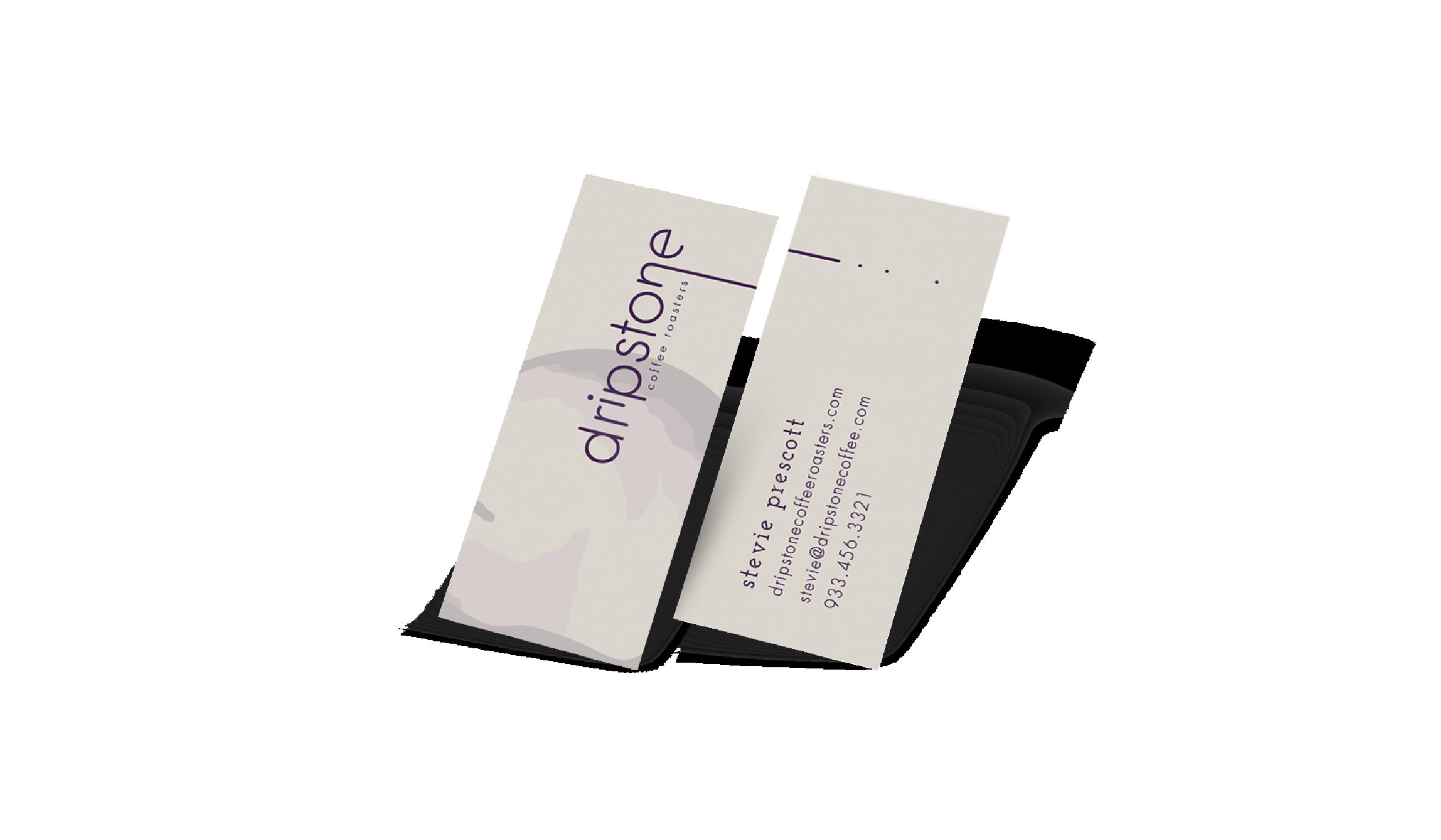 coffee roasters business card design